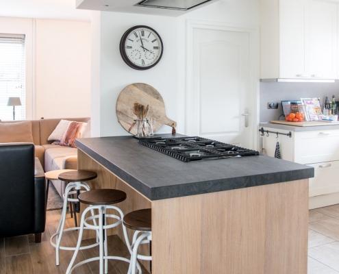 kookeiland geborsteld eiken maatwerk maatkeukens jm interieurbouw nieuwe keuken weert nederweert limburg